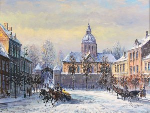 Jan Rawicz (XX w.), Zimowy widok miejski