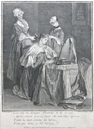 Louise-Madeleine Horthemels (1686-1777), Toaleta