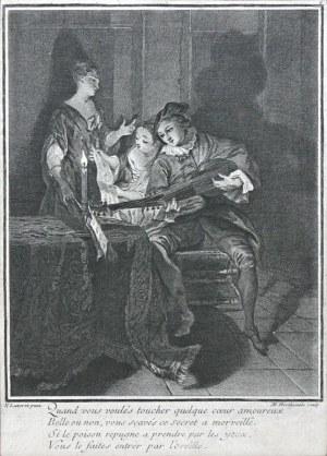 Louise-Madeleine Horthemels (1686-1777), Muzykujące towarzystwo