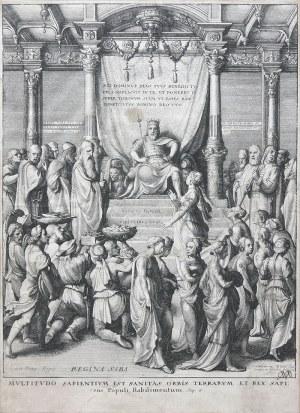 Wencelaus Hollar (1607-1677), Salomon i Królowa Saby