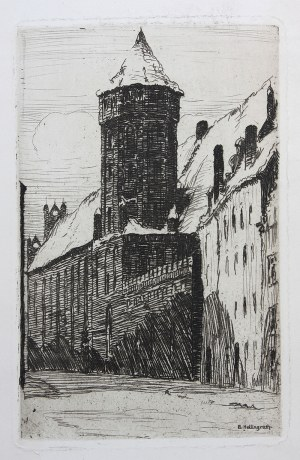 Berthold Hellingrath (1877 Elbląg - 1954 Hannover), Kościół św. Mikołaja w Gdańsku, 1921-1926