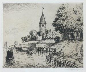 Berthold Hellingrath (1877 Elbląg - 1954 Hannover), Twierdza Wisłoujście