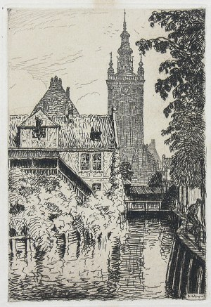 Berthold Hellingrath (1877 Elbląg - 1954 Hannover), Kościół św. Katarzyny w Gdańsku