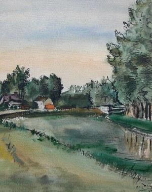 Henryk Hayden (1883 Warszawa - 1970 Paryż), Pejzaż, 1947 r.