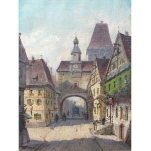 Moritz Wimmer (XIX/XX w.), Rothenburg nad rzeką Tauber