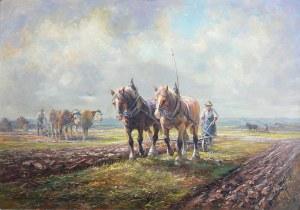 Artysta nieokreślony (XIX/XX w.), W polu