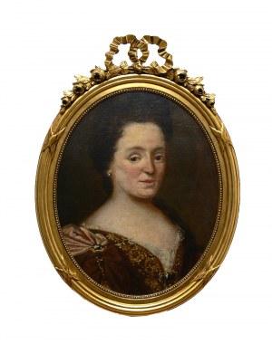 Artysta nieokreślony (XIX w.), Portret damy