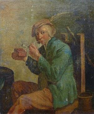 Artysta nieokreślony (XIX w.), Mężczyzna z fajką