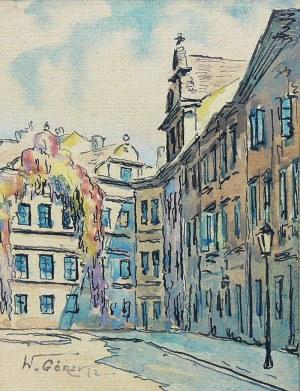 W. Górski (XIX/XX w.), Widoki Warszawy: Stare Miasto, Zamek Królewski, Kamienne Schodki