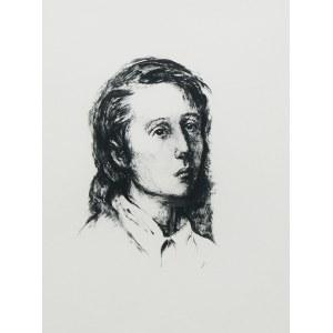 Maurycy Mędrzycki (1890 Łódź - 1951 Paul de Vance), Portret kobiety z warszawskiego getta