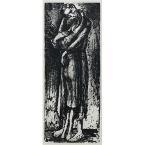 Maurycy Mędrzycki (1890 Łódź - 1951 Paul de Vance), W warszawskim getcie, 1949 r