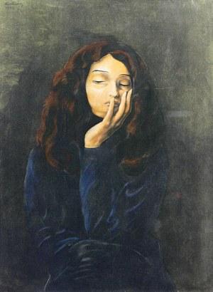 Mojżesz Kisling (1891 Kraków - 1953 Sanary-sur-Mer), Portret dziewczyny