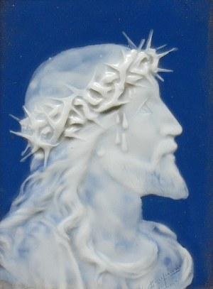 Plakieta Chrystus w koronie cierniowej