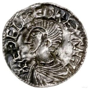 denar typu Long Cross, 997-1003, mennica Exeter, mincer...