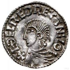 denar typu Long Cross, 997-1003, mennica Londyn, mincer...