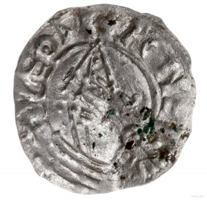 naśladownictwo denara typu Pointed Helmet, po 1024; Aw:...