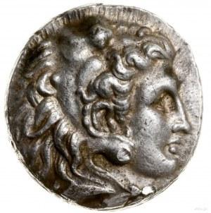 Tetradrachma, ok. 311–305 pne, mennica Babilon; Aw: Gło...