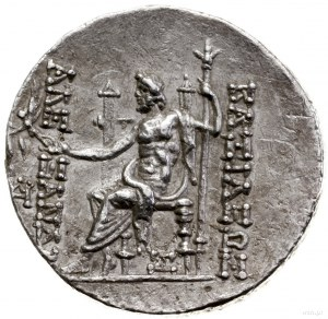 Tetradrachma, mennica Antiochia ad Orontem; Aw: Głowa A...