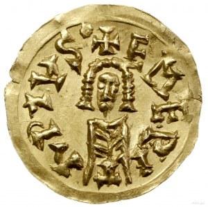 Tremissis, mennica Emerita Augusta (Merida); Aw: Schema...
