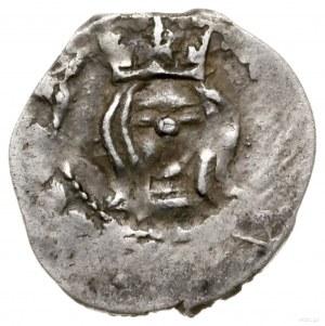 Półgrosz litewski (pieniążek), ok. 1388–1390, Wilno; Aw...