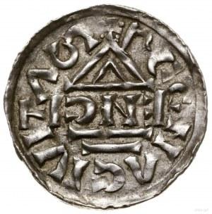 Denar, 1002–1009, mincerz Anti; Aw: Krzyż grecki, w kąt...