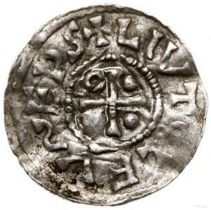 Denar, 989–996, mincerz Vilja; Aw: Krzyż grecki, w kąta...