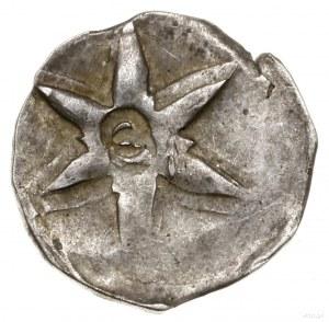 Parwus (1/4 kwartnika), 1. ćwierć XIV w., mennica Wołów...
