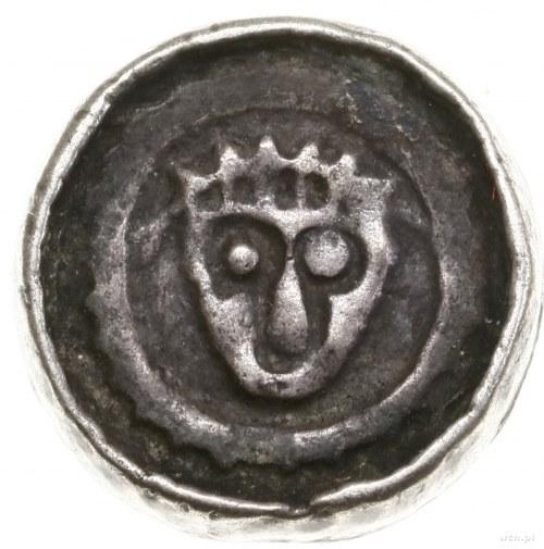 Denar krzyżowy, ok. 1090–1100, mennica Wrocław; Aw: Sze...