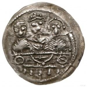 Denar, 1157–1166; Aw: Popiersie księcia na wprost trzym...