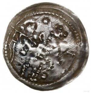 Denar, 1236–1248; Aw: Postać na koniu, w prawo, trzymaj...