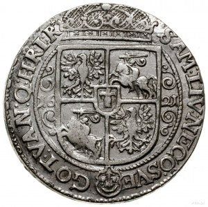 Ort, 1621, mennica Bydgoszcz; końcówka legendy awersu P...