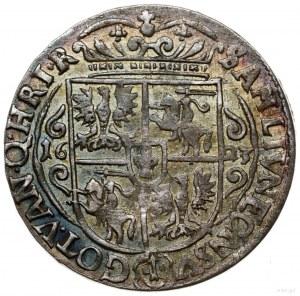 Ort, 1623, mennica Bydgoszcz; końcówka legendy awersu P...