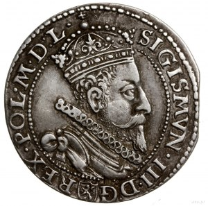 Szóstak, 1601 M, mennica Malbork; Kop. 1251 (R3), Kopic...