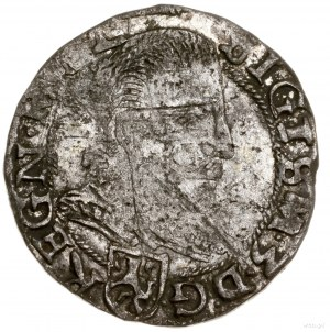 Grosz, 1597, mennica Lublin; Aw: Popiersie króla bez ko...