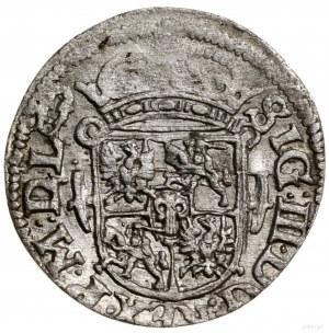 Półtorak, 1619, mennica Wilno; odmiana z herbem Wadwicz...