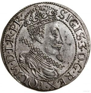 Ort, 1611, mennica Gdańsk; odmiana z kropką nad łapą ni...