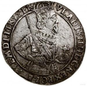 Talar, 1633, mennica Toruń; Aw: Półpostać króla w prawo...