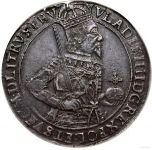 Talar, 1634/5, mennica Toruń; Aw: Półpostać króla w pra...