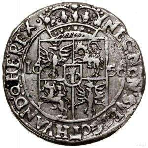 Ort, 1656, mennica Lwów; Aw: Popiersie władcy w prawo, ...
