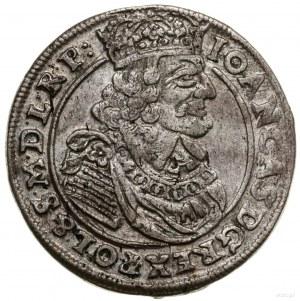 Ort, 1663 AT, mennica Kraków; w legendzie na awersie S ...