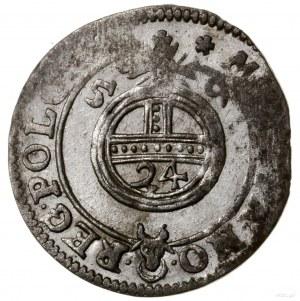 Półtorak, 1659, mennica Poznań; na awersie IO CASI D G ...