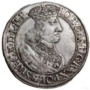 Ort, 1657 DL, mennica Gdańsk; odmiana z popiersiem z mn...