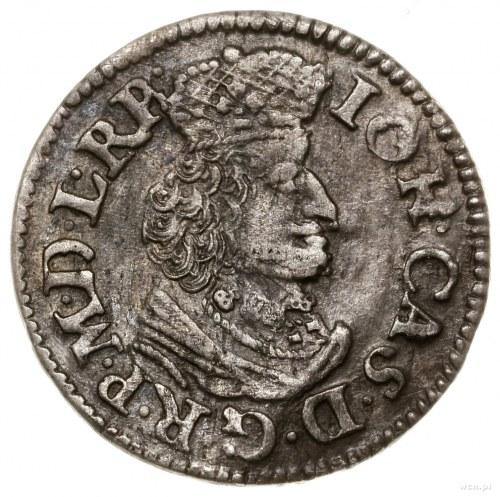 Dwugrosz, 1651, mennica Gdańsk; popiersie bez obwódki; ...