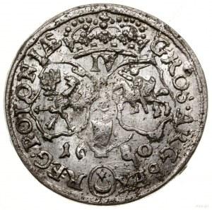 Szóstak, 1680 TLB, mennica Kraków; popiersie króla w zb...