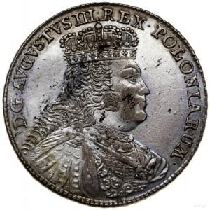 Talar, 1756 EDC, Lipsk; Aw: Popiersie króla zwrócone w ...
