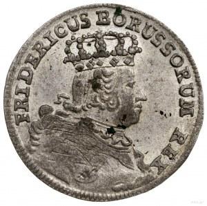 Naśladownictwo pruskie szóstaka lipskiego Augusta III (...
