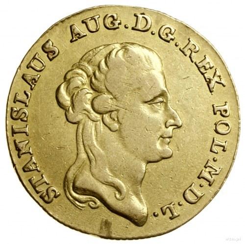 3 dukaty, 1794, Warszawa; Aw: Głowa króla zwrócona w pr...