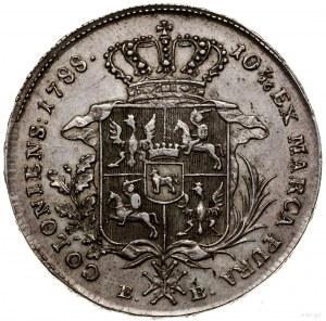 Talar, 1788 EB, Warszawa; Aw: Głowa króla w prawo, woko...