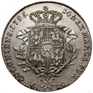 Talar, 1795, Warszawa; Aw: Głowa króla w prawo, wokoło ...