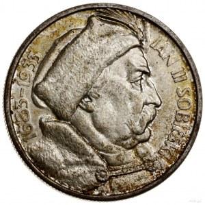 10 złotych, 1933, Warszawa; Jan III Sobieski - 250. roc...